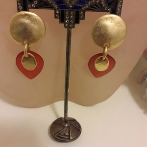 Vintage pierced earrings